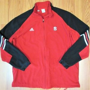 NC STATE WOLFPACK Mens ADIDAS CLIMAWARM FLEECE